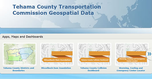 Tehama County Transportation Commission Geospatial Data